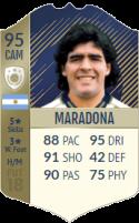 FIFA 18: Diego Maradona - Icon 95 CAM