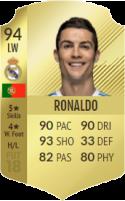 FIFA 18: Cristiano Ronaldo - Gold 94 LW