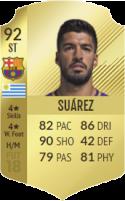 FIFA 18: Luis Suárez - Gold 92 ST