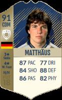 FIFA 18: Lothar Matthäus - Icon 91 CDM