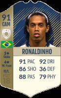 FIFA 18: Ronaldinho - Icon 91 CAM