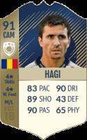 FIFA 18: Gheorghe Hagi - Icon 91 CAM