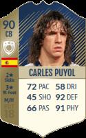 FIFA 18: Carles Puyol - Icon 90 CB