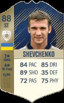 FIFA 18: Andriy Shevchenko - Icon 88 ST
