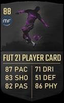 FUT 21 Bruno Fernandes - In-form 89 CAM