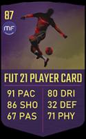 FUT 21 Eden Hazard - RTTF90LW